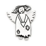 Schutzengel Charly Pin Angels welcome silber