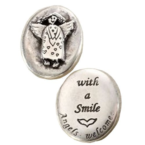 Angel pocket coin with a smile angels welcome gift shop - Coin casa shop on line ...