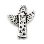 Pin Guardian Angel Heart Lilly Angels welcome