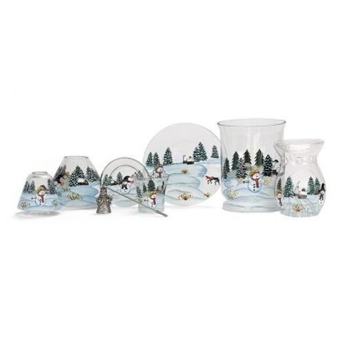 schneefall yankee candle lampenschirm gro duftkerzen geschenke und sch ner wohnen casa rosa. Black Bedroom Furniture Sets. Home Design Ideas