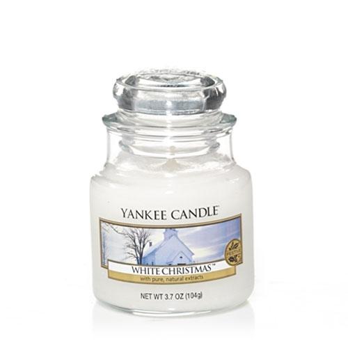 white christmas yankee candle glas 104g duftkerze klein g nstig. Black Bedroom Furniture Sets. Home Design Ideas