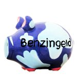Benzingeld Piggy Bank blue