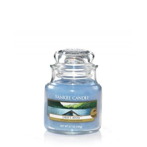 drift away yankee candle glas klein 104g duftkerze billig shop. Black Bedroom Furniture Sets. Home Design Ideas