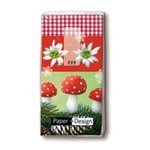Christmas Nature Hanky Box Of 12 recloseable