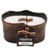 Brownstone Oval RibbonWick Candle 400g