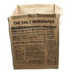 Newspaper Container For Clothes
